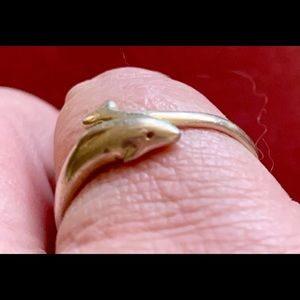 Jewelry - Sterling Silver Dolphin Ring 🐋